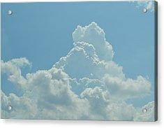 Clouds Acrylic Print by Kiros Berhane