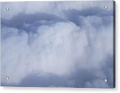 Acrylic Print featuring the photograph Clouds by Kristine Bogdanovich