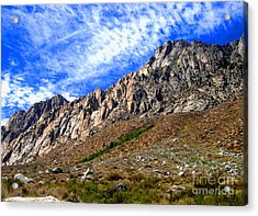 Acrylic Print featuring the photograph Clouds by Marilyn Diaz
