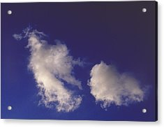 Acrylic Print featuring the photograph Clouds by Mark Greenberg