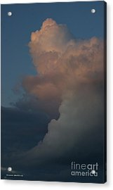 Clouds Meeting Acrylic Print by Tannis  Baldwin