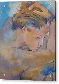 Clouds Acrylic Print by Michael Creese