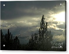 706p Clouds Acrylic Print