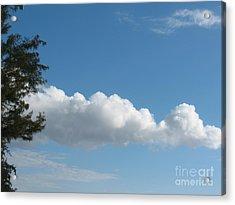 Clouds - Nuages - Ile De La Reunion - Reunion Island Acrylic Print by Francoise Leandre