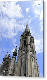 Clouds Over Cathedral Acrylic Print