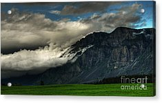 Clouds Over Goat Mountain Acrylic Print
