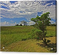 Clouds Over Hatteras Acrylic Print
