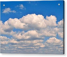 Clouds Over Lake Pontchartrain Acrylic Print
