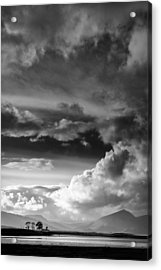 Clouds Over Loch Laich Acrylic Print by Dave Bowman