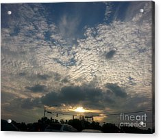 Acrylic Print featuring the photograph Clouds Over Maryland by Emmy Marie Vickers