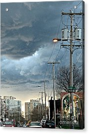 Clouds Over Philadelphia Acrylic Print