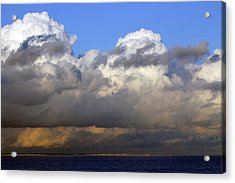 Clouds Over Portsmouth Acrylic Print by Tony Murtagh
