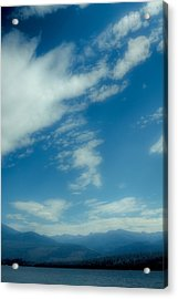 Clouds Over Priest Lake Acrylic Print by David Patterson