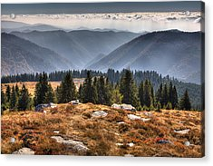 Clouds Over Romania Acrylic Print