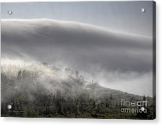 Acrylic Print featuring the photograph Clouds Over Sleeping Bear Dunes 1 by Trey Foerster