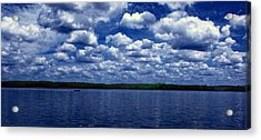 Clouds Over The Catawba River Acrylic Print