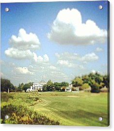 Clouds Over The Club House #iphone5 Acrylic Print