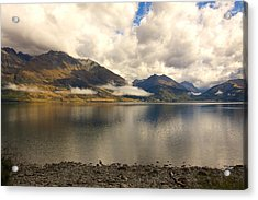 Acrylic Print featuring the photograph Clouds Over Wakatipu #1 by Stuart Litoff