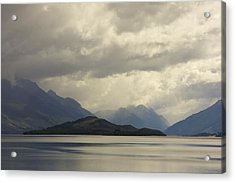Acrylic Print featuring the photograph Clouds Over Wakatipu #2 by Stuart Litoff