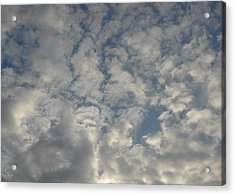 Clouds Two Acrylic Print