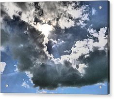 Acrylic Print featuring the photograph Clouds by Winifred Butler