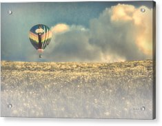 Clouds Within Clouds Acrylic Print by Bob Orsillo