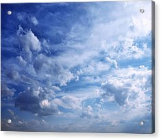 Cloudscape 5 Acrylic Print by Tom Druin