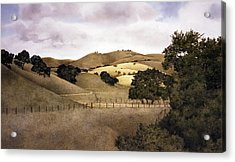 Cloudy Afternoon Acrylic Print by Tom Wooldridge