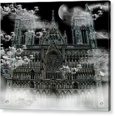 Cloudy Cathedral Acrylic Print