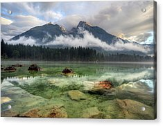 Cloudy Day Acrylic Print by