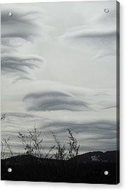 Cloudy Day Acrylic Print by Yvette Pichette