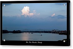Clover Cary Bridge 2 Acrylic Print by David Lester