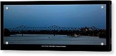 Clover H Cary Bridge Acrylic Print by David Lester