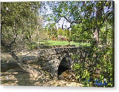 Clover Valley Park Bridge Acrylic Print