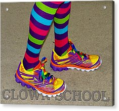 Clown School Acrylic Print