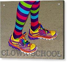 Clown School Acrylic Print