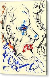 Clown Thug IIi Acrylic Print