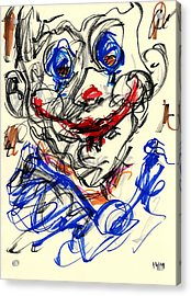 Clown Thug V Acrylic Print
