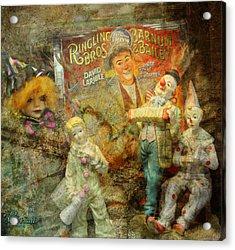 Clowning Bright Acrylic Print