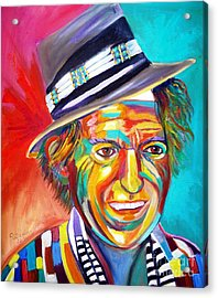 Clowning Acrylic Print by To-Tam Gerwe