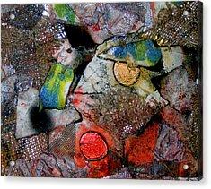 Clowns Acrylic Print