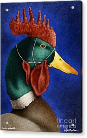 Clucks Unlimited... Acrylic Print by Will Bullas