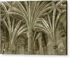 Cluny Museum Ceiling Detail Acrylic Print