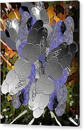 Acrylic Print featuring the digital art Cluster by Kelly McManus
