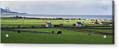 Acrylic Print featuring the photograph Clyneview Panorama Scotland by Sally Ross