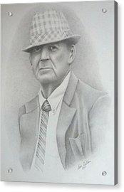 Coach Acrylic Print by Don Cartier