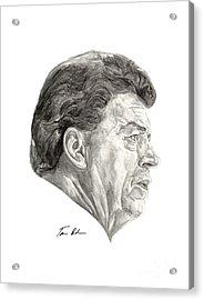 Coach Acrylic Print