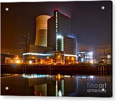 Coal Fired Powerhouse Acrylic Print
