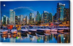 Coal Harbour Acrylic Print