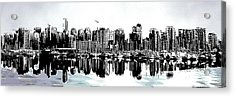 Coal Harbour Vancouver Panorama Acrylic Print by Patricia Keith
